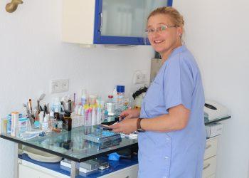 Unser Team freut sich über Frau Anja Tillmann